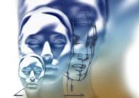 Drei Gesichter - Beruf- Gesundheit - Beziehung